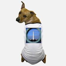 Washington Monument Through Fence Dog T-Shirt