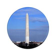 """Washington Monument Through Fence 3.5"""" Button"""