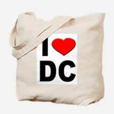 I Heart DC Tote Bag