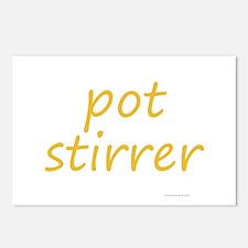 pot stirrer Postcards (Package of 8)