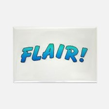FLAIR! FUNNY Rectangle Magnet