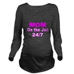 MOM Long Sleeve Maternity T-Shirt