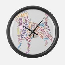 SD Lt Colors Large Wall Clock