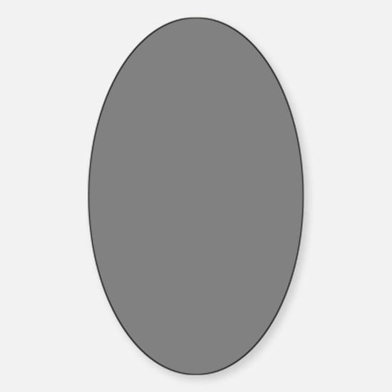 Vintage Photo of Gentlemen Sticker (Oval)