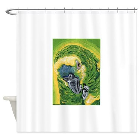 Amazon Parroy Shower Curtain By Carlaspetportraits