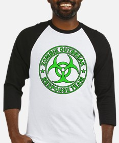 Zombie Outbreak Response Team gree Baseball Jersey