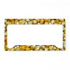 Popcorn kernels License Plate Holder