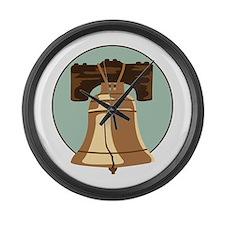 Liberty Bell Large Wall Clock