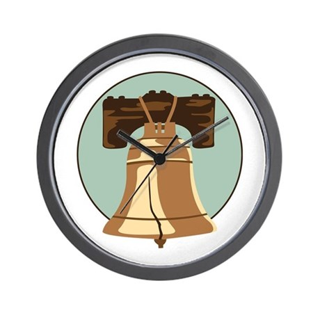 Liberty Bell Wall Clock by Hopscotch3