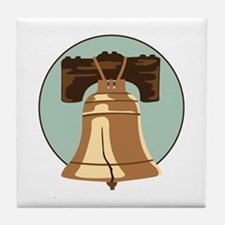 Liberty Bell Tile Coaster