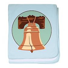 Liberty Bell baby blanket