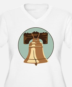 Liberty Bell Plus Size T-Shirt