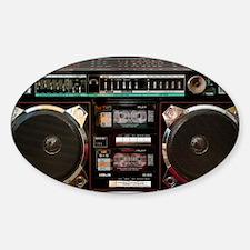 Vintage Helix HX-4636 Boombox Decal