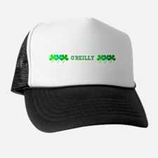 Personalised Custom Name Green Hues Clovers Cap