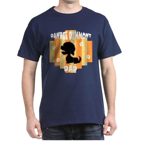 Dandie Dinmont Dad Dark T-Shirt