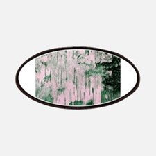 Green Birch Tree Bark Photo Texture Patches