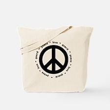 peace * love * guard Tote Bag