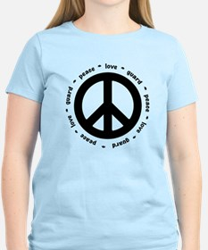 peace * love * guard T-Shirt
