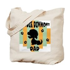 Dandie Dinmont Dad Tote Bag