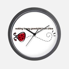Waiting for my Grandchild Wall Clock