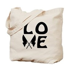 Color Guard LOVE Tote Bag