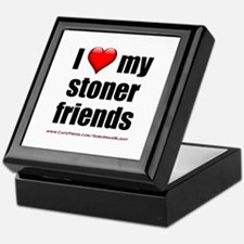 """Love My Stoner Friends"" Keepsake Box"