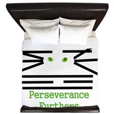 Cat I-Ching King Duvet