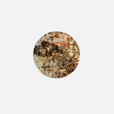 Rustic Old Birch Tree Wooden Texture Mini Button