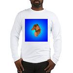 Long Coated Dachshund Profile Long Sleeve T-Shirt