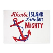 Rhode ISLAND Little BUT MIGHTY 5'x7'Area Rug