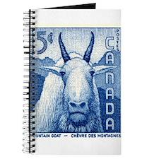 Vintage 1956 Canada Mountain Goat Postage Stamp Jo