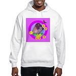 Mini Wirehaired Dachshund Hooded Sweatshirt