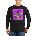 Mini Wirehaired Dachshund Long Sleeve Dark T-Shirt