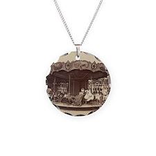 Vintage Carousel Necklace