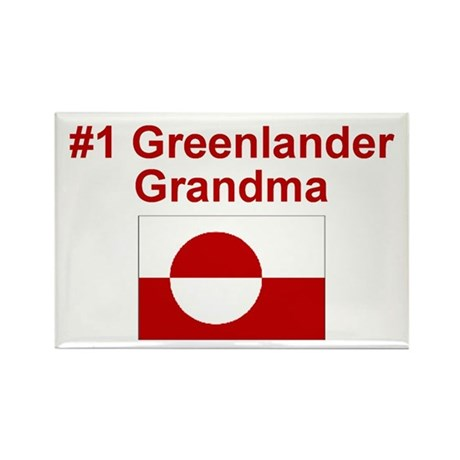 Greenland #1 Grandma Rectangle Magnet