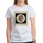 Longhaired Dachshund head stu Women's T-Shirt