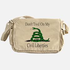 Funny Civil liberties Messenger Bag