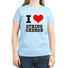 I Heart (Love) String Cheese T-Shirt