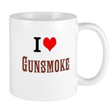 I Love Gunsmoke Mugs