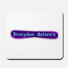 Bronydom Network Logo Mousepad