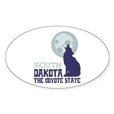 SOUTH DAKOTA THE COYOTE STATE Decal