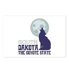 SOUTH DAKOTA THE COYOTE STATE Postcards (Package o