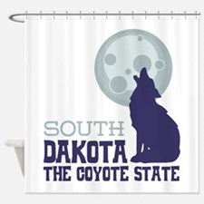 SOUTH DAKOTA THE COYOTE STATE Shower Curtain