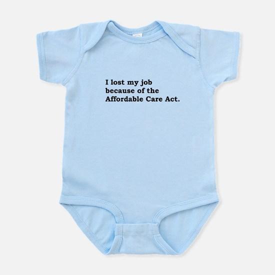 Obamacare (job, non-pugnacious) Body Suit