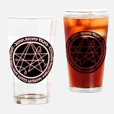 Alien Necronomicon Sigil Drinking Glass
