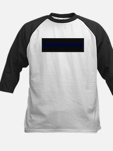 Police Carbon Fiber Thin Blue Line Baseball Jersey