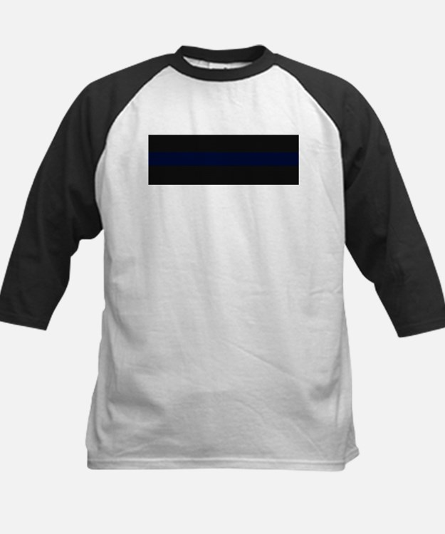 Police Carbon Fiber Thin Blue Line Baseball Jersey