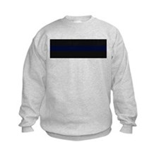 Police Carbon Fiber Thin Blue Line Sweatshirt