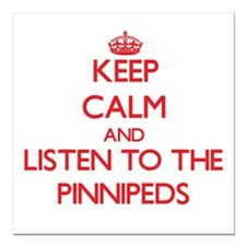 Keep calm and listen to the Pinnipeds Square Car M