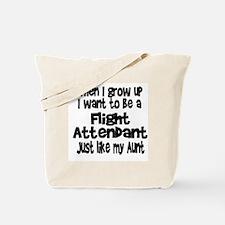 WIGU Flight Attendant Aunt Tote Bag